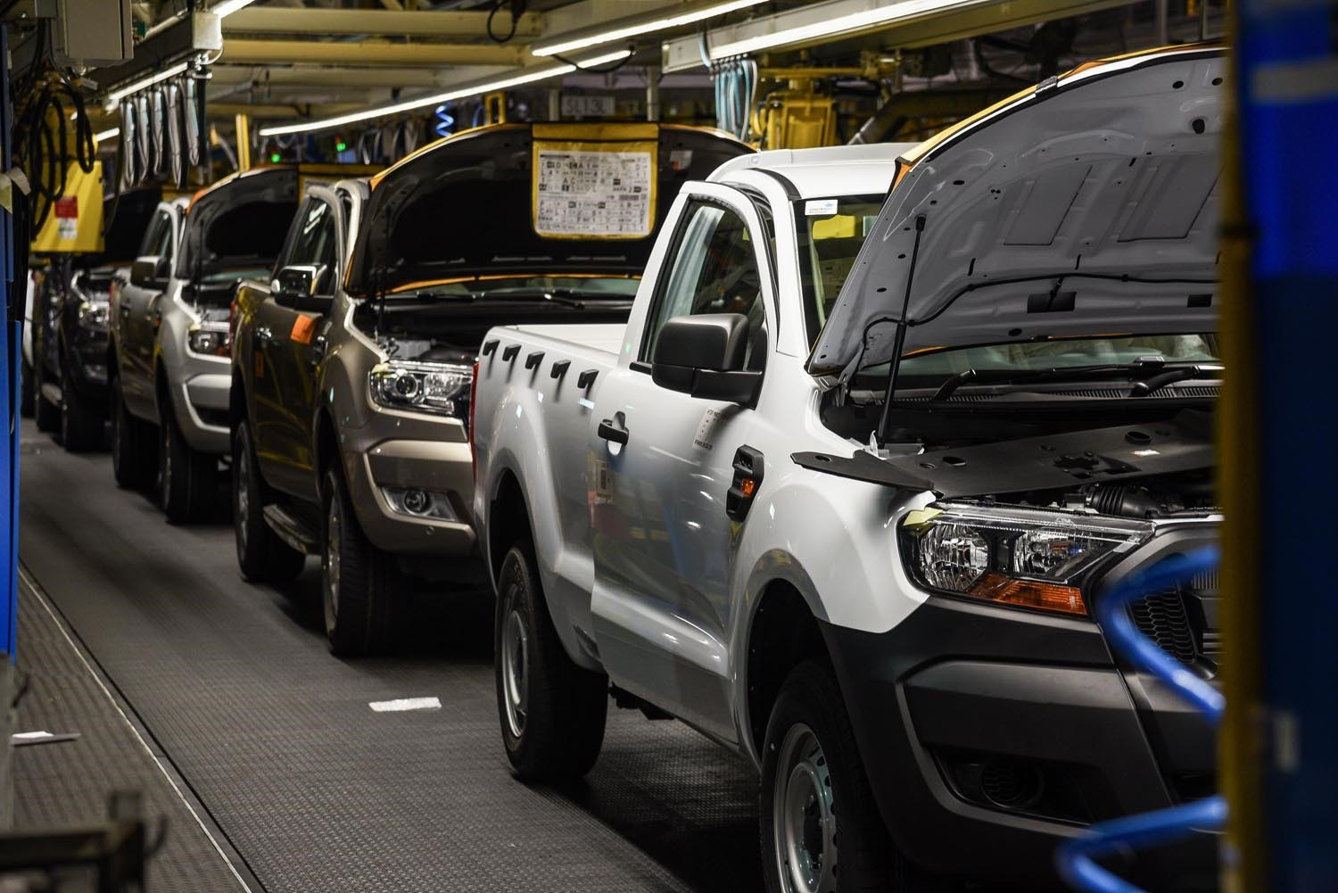 Ford starts production of new Ford Ranger