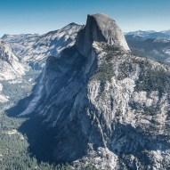 1000 m über dem Yosemite Valley: Aussicht vom Glacier Point