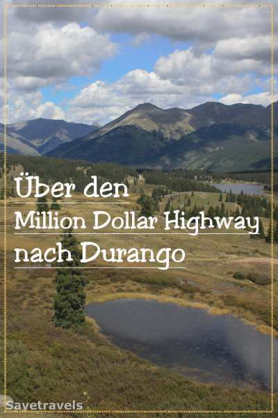 Sagenhaft schöne Strecke: über den Million Dollar Highway nach Durango. http://safetravels.de/million-dollar-highway-durango/