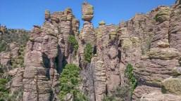 Bizarre Formationen im Echo Canyon
