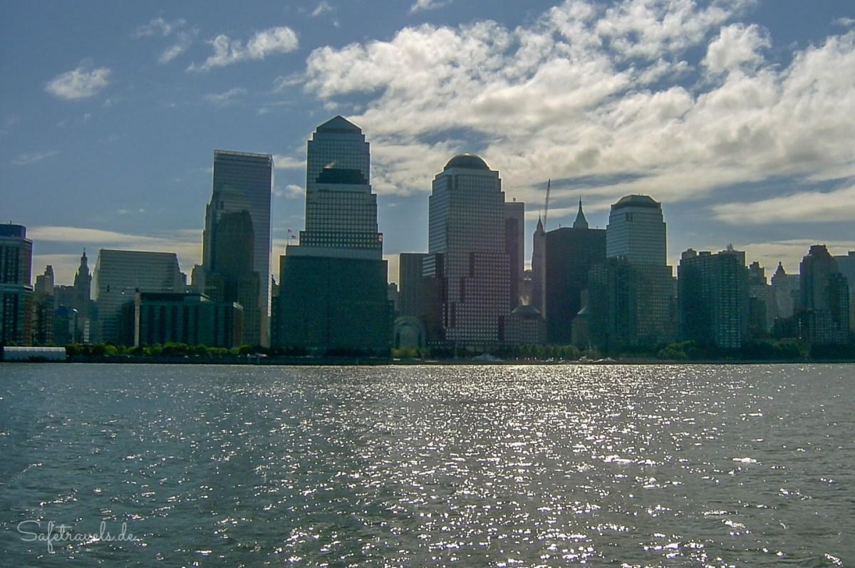 Lower Manhattan mit dem World Trade Center