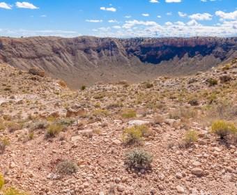 Meteor Crater Blog Titel