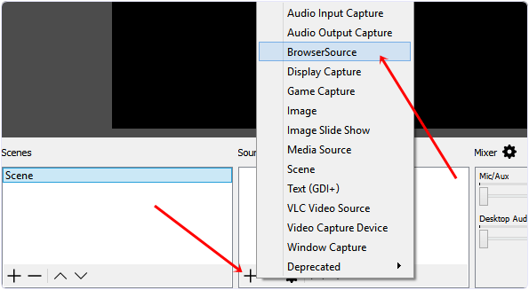 obs browse source option