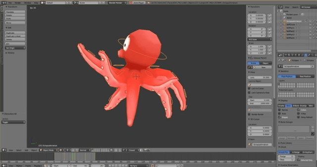 blender animation software