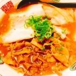 お肉タップリで大満足♬ 熱烈タンタン麺 一番亭さんの肉バカ醤油ラーメン