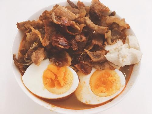 アレンジ風 蒙古タンメン中本のカップ麺