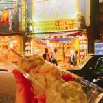 横浜中華街 初日の夜はここで締めます☆ボリュームたっぷりBIGサイズ!皇朝の大焼売串