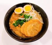 マルちゃん正麺で作ったラーメン