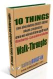 10 things safety-leadership walkthroughs