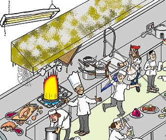 Safety Cartoon Health And Safety Cartoons Safety