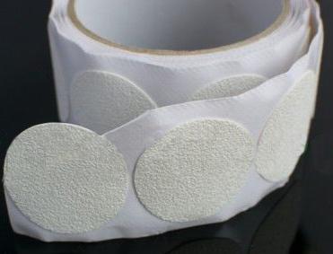 Aqua Safe Round White Tub Sticker Discs Safety Direct