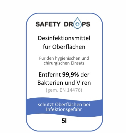 Safetydrops Label 6 Label 7