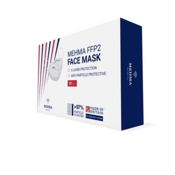 Mehma FFP2 Face Mask Packungseite