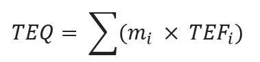 ASP Math - Toxic Equivalency of a Compound
