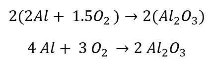 ASP CSP Math Review - Balancing a Chemical Equation Example