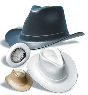 Vulcan Cowboy Hard Hats Ansi Z89 1 Rated 25 Off Free Shipping