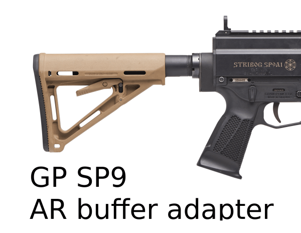 GP SP9 Buffer Tube Adapter