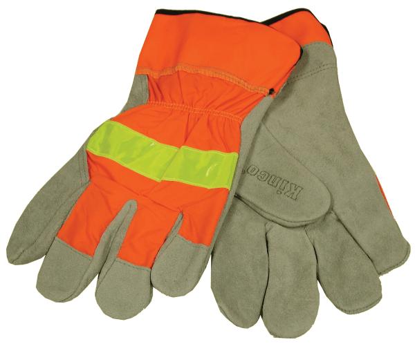 orange-cowhide-reflective-glove