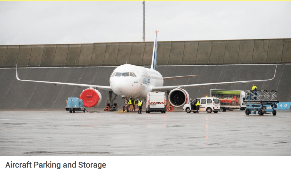Airbus Parking & Storage