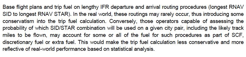 ICAO Doc 9976 extract