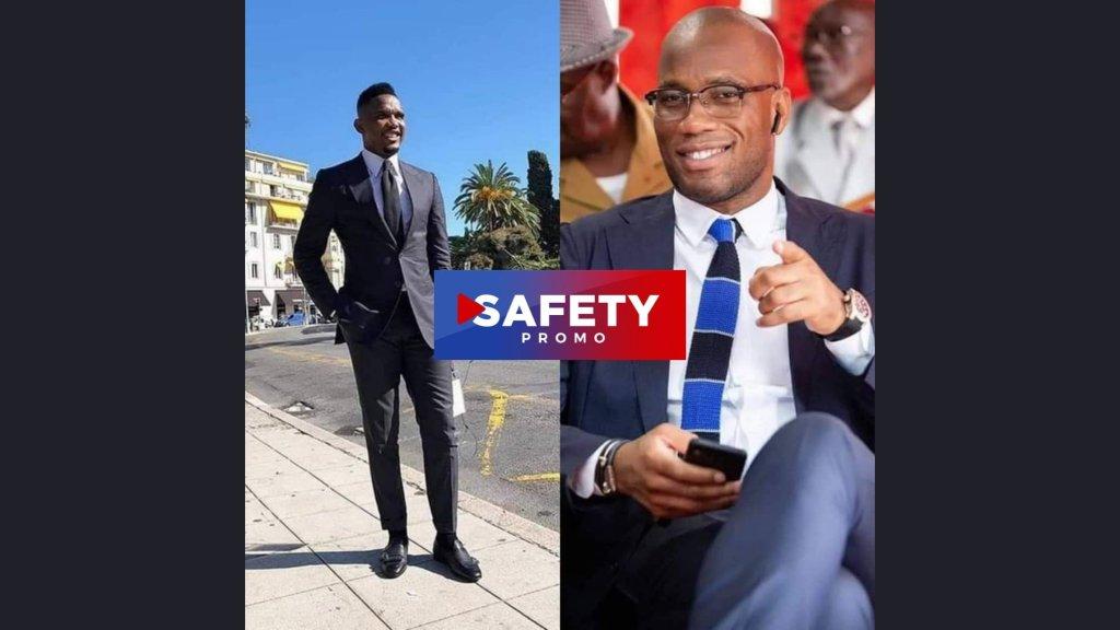 ÉLECTION À LA FIF : SAMUEL ETO'O APPORTE SON SOUTIEN À DROGBA