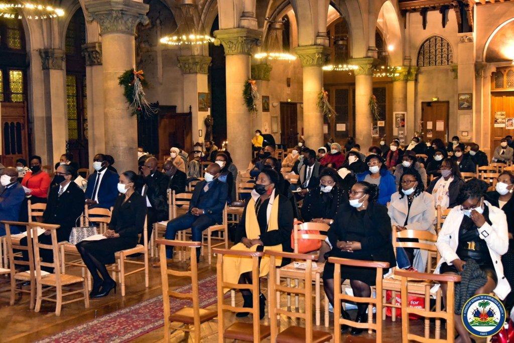 Le consulat général d'Haïti à Paris commémore la mémoire des victimes du puissant séisme de Janvier 2010.