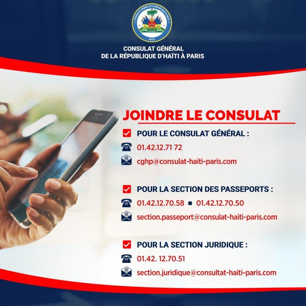 Le consulat général de la république d'Haïti à Paris innove et dynamise ses services