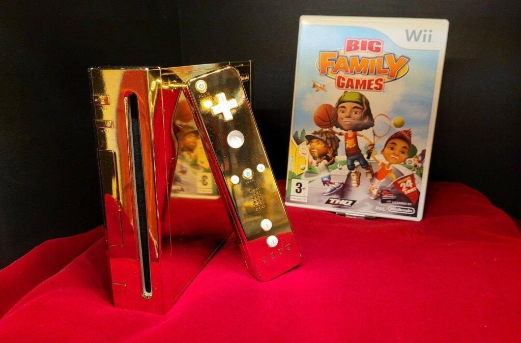 La Wii en or faite pour la reine Elizabeth II est mise en vente à 300 000 dollars