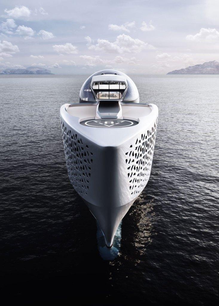 Ce yacht à 700 millions de dollars alimenté par de l'énergie nucléaire a pour mission de sauver les océans