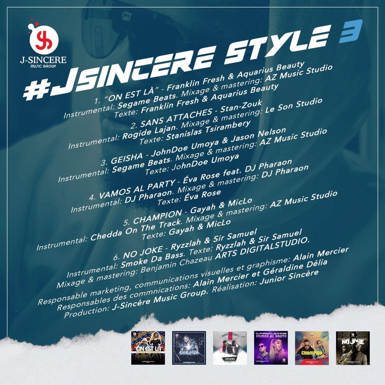 Le premier EP (#JsincereStyle3) du producteur Canado-Haïtien, Junior Sincère, vient d'atteindre la barre symbolique de 1 Million d'écoutes sur Soundcloud