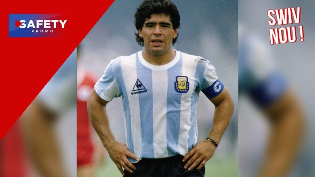 """Adidas va offrir un maillot à tous les """"Diego Armando"""" nés en Argentine en 1981"""