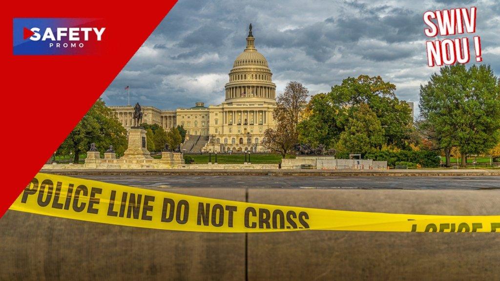 Washington : un véhicule suspecté de contenir des explosifs encerclé près du Capitole