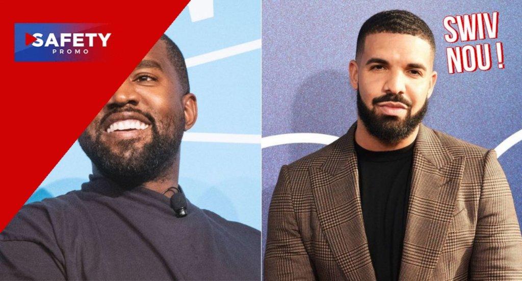 Kanye West en guerre avec Drake, il balance son adresse sur les réseaux sociaux