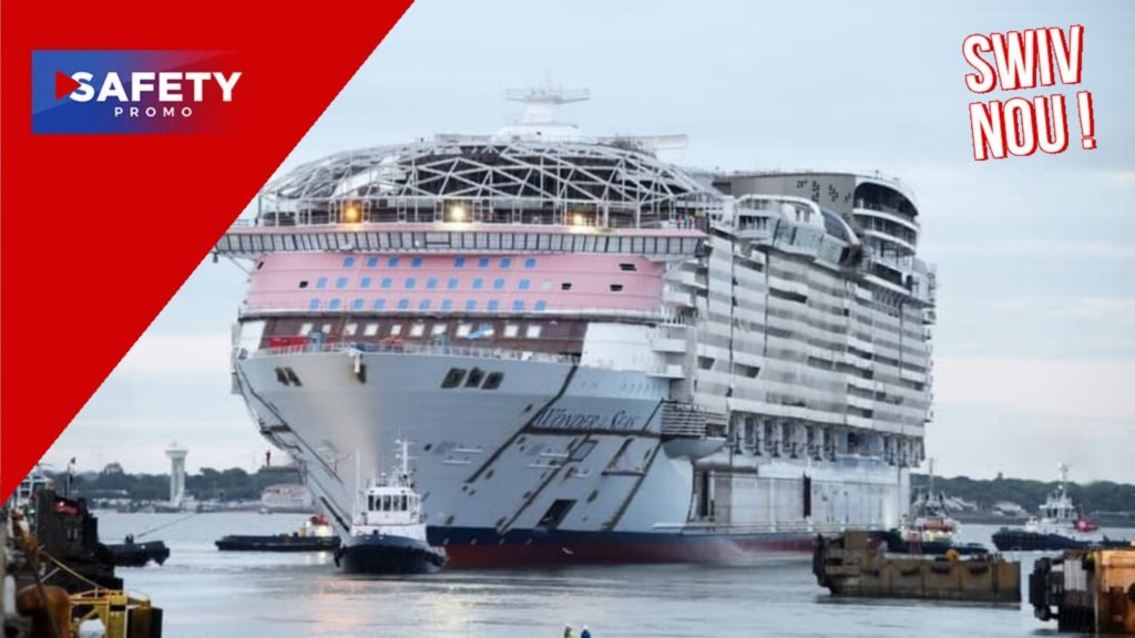 Le plus grand paquebot au monde sort en mer pour la première fois