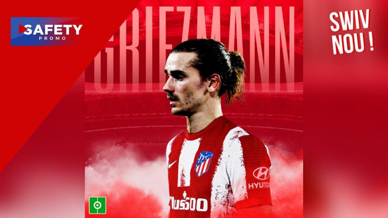 Fin du mercato de football : Antoine Griezmann retourne à l'Atlético Madrid