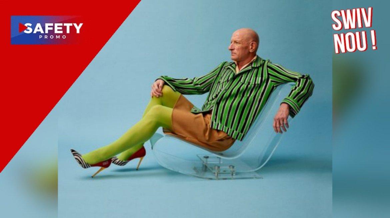 Cet homme prouve que les jupes et les talons ne sont pas réservés qu'aux femmes