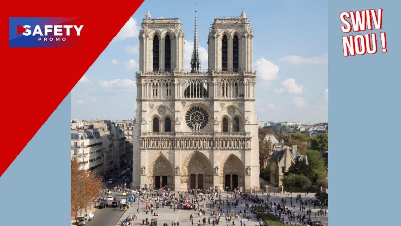Notre-Dame de Paris: 840 millions d'euros de dons collectés