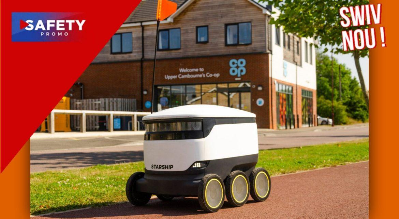 Starship : des robots autonomes de livraison débarquent dans plusieurs villes