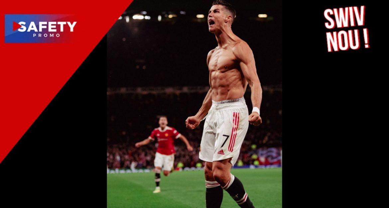 Manchester United : Cristiano Ronaldo s'offre un nouveau record !