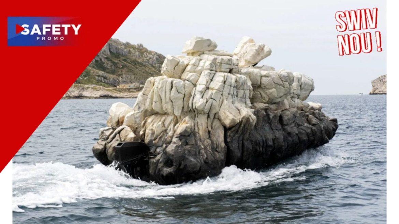 Ceci n'est pas un rocher, c'est un bateau