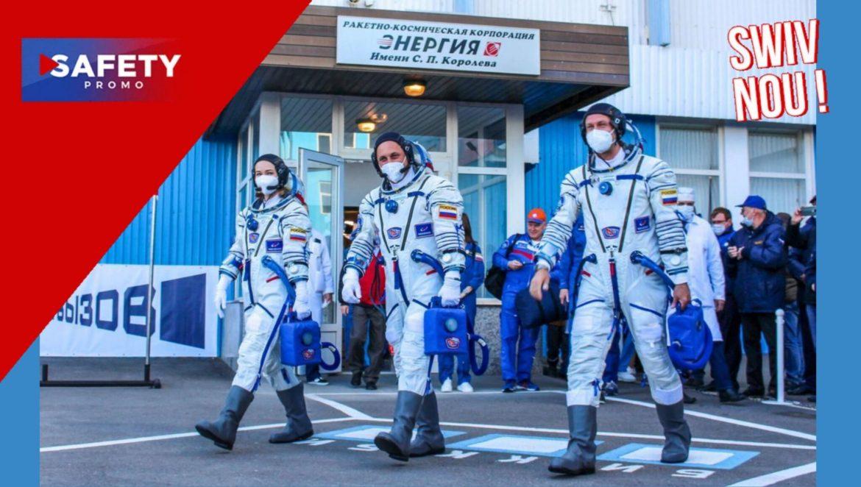 Une équipe de tournage russe s'envole vers l'ISS pour tourner le tout premier film dans l'espace