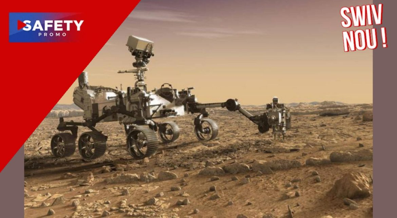 Le rover Perseverance confirme qu'il y a eu un immense lac sur Mars