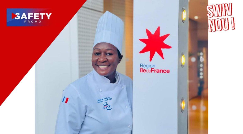 Notre chef Carline Irantus a participé à la semaine du goût , organisée par la région Île de France