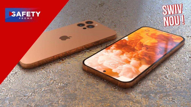 iPhone 14 : cette vidéo 3D montre le nouveau design sans encoche