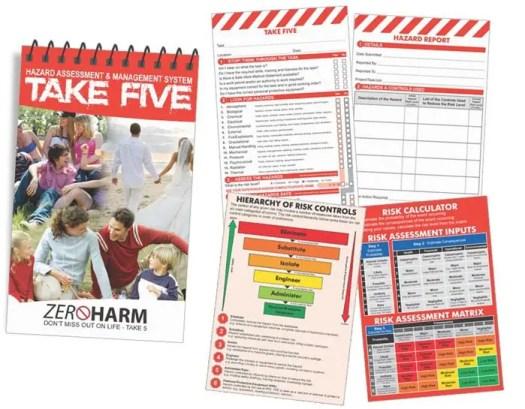 Take 5 Safety Book