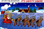 Christmas Safety Poem