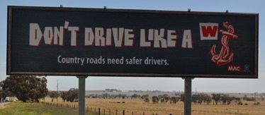 Drive like a wanker