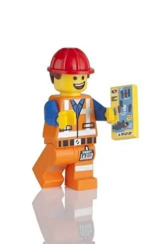 LEGO Hard Hat Emmet minifigure