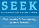 SEEK Investigations Workshop
