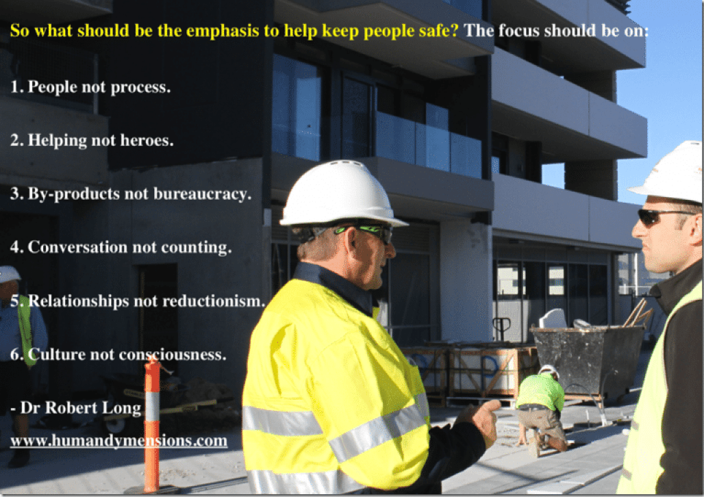 Six Lessons in Safety